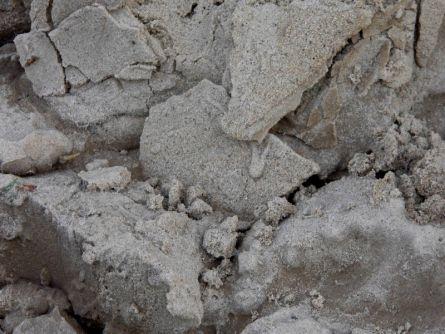 Песок со дна колодца после первой откачки
