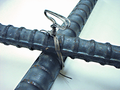 Пример вязки арматуры