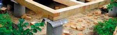 Цемент, щебень и песок необходимы для устройства фундамента...