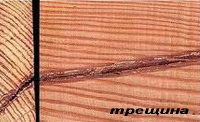 Дефекты древисины