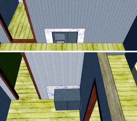 Термоизоляционная разделка деревянных стен из листового железа