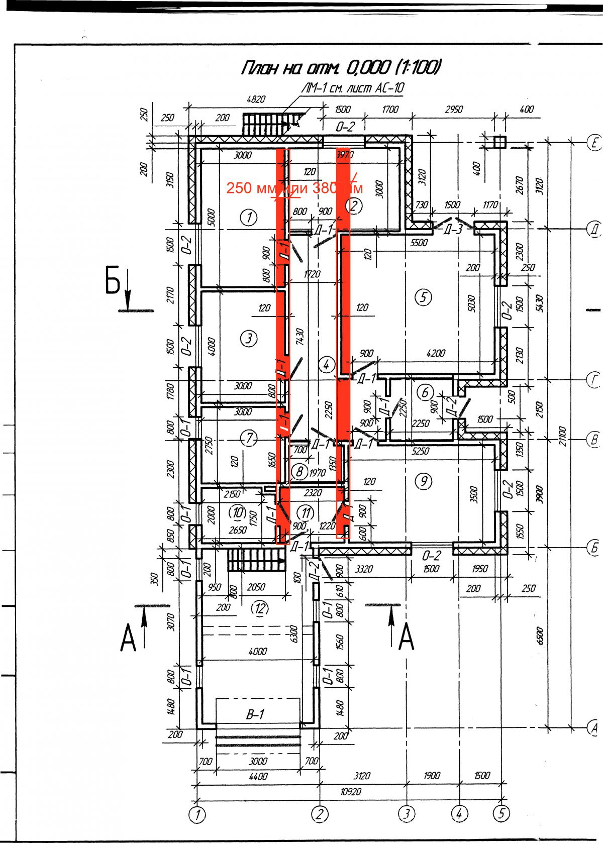 схема кладки ракушняка