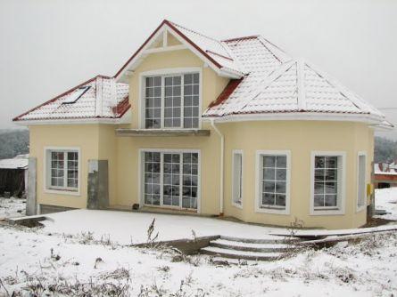 Вид готового дома