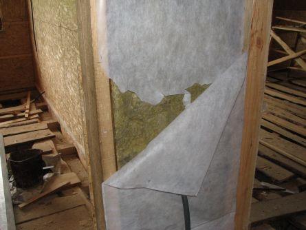 Теплоизоляция стен