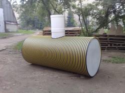 Трехкамерный бак септик для утилизации жидких бытовых отходов