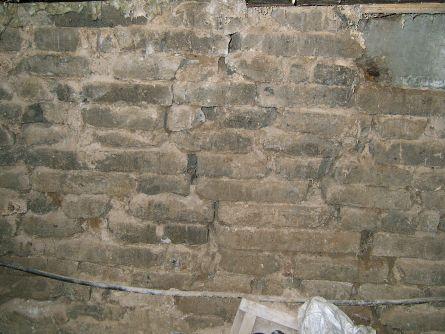 стена, вид на кирпич