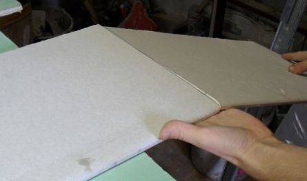 Как отрезать гипсокартон