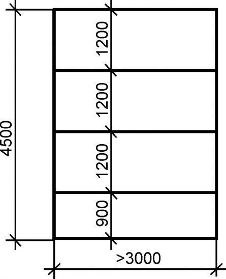 схема расположения листов гипсокартона на потолке пример
