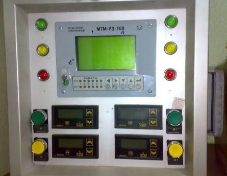 Рисунок 17– Лицевая панель управления теплогенератором.
