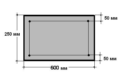 Схема армирования армопояса