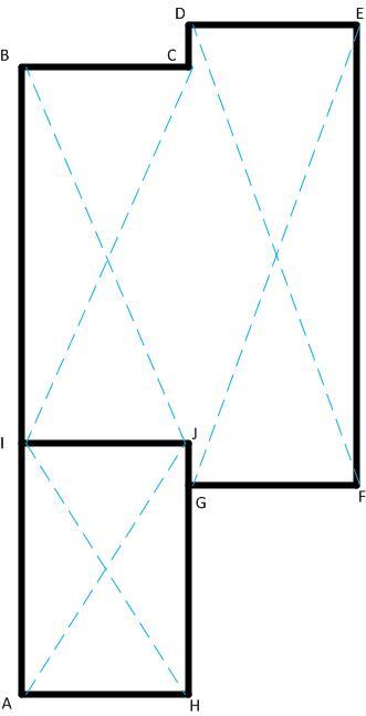 Разметка траектории фундамента
