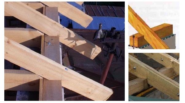 Стропила своими руками на деревянный дом