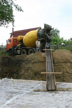 Желоб для подачи бетона