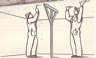 Обшивка потолка