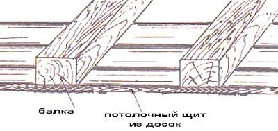Потолочный щит