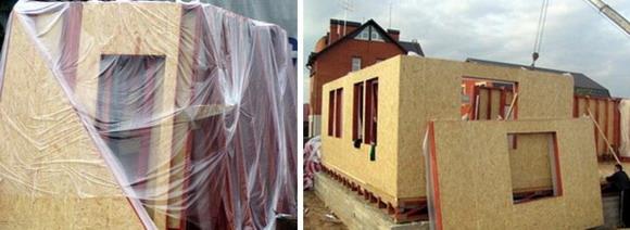 Каркасно-панельный дом.  Разработка строительства каркасного дома.