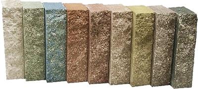 Характерная бетонная блёклость гиперпрессованных кирпичей