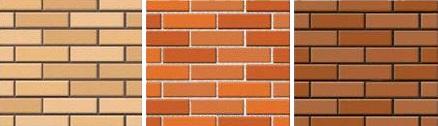 Усреднение общего цветового тона кирпичной стены