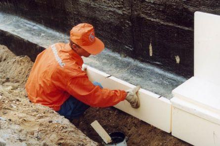 гидро- и теплоизоляция ленточного фундамента