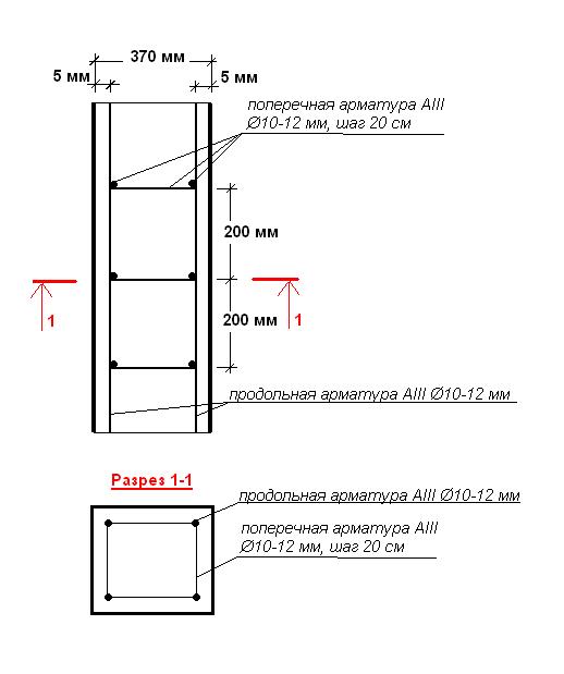 armirovaniye-vertikalnoy-ramy-monolitnog