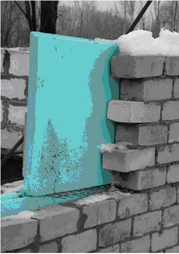Гибкие связи в многослойной стене