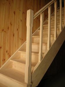 """Заходная стойка для лестницы  """"Львенок """" ."""