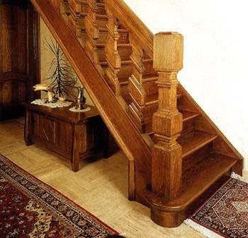 Прямая маршевая лестница