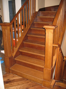 Виды лестниц для частного дома