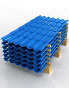 Правильное складирование металлочерепицы