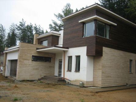 Дом с каркасным несущим остовом