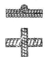односрезное крестообразное сварочное соединение