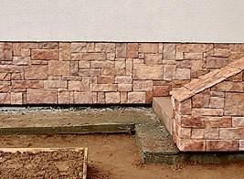 глиняная отмостка