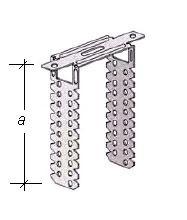 П-образный прямой подвес