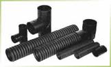 Соединительные элементы гофрированной дренажной трубы