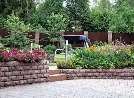 Виды, конструкция и основные понятия о подпорных стенках