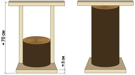 Деревянная трамбовка