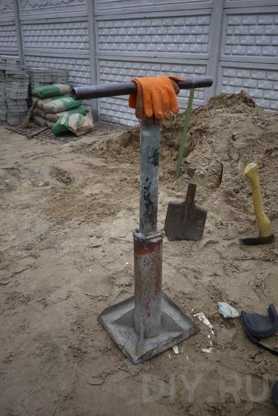 Самодельные трамбовки для грунта - Виброплита своими руками Строительный портал