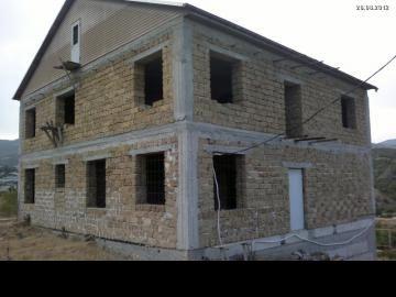 Фото дома в Крыму. Монолитный каркас.