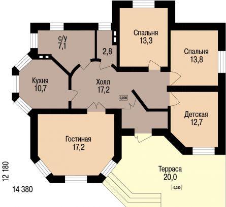 проекты домов одноэтажных - Нужные схемы и описания для всех.
