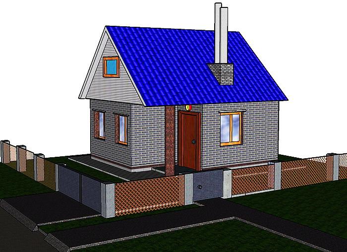 новые проекты 2 этажных домов площадью до 200 кв м с фото - Нужные схемы и описания для всех.