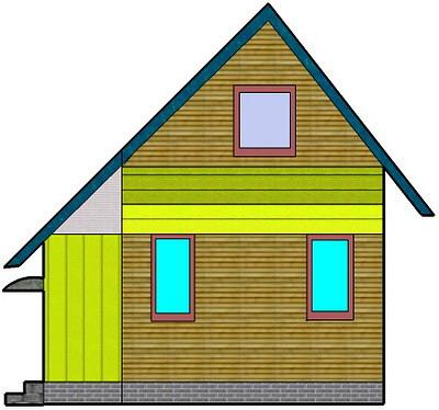 Терраса с капитальной привязкой к дому