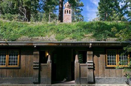 Скандинавский стиль-крыша
