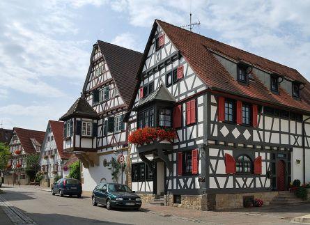 Западно-европейский стиль-фасад