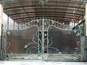 Ворота поликарбонат