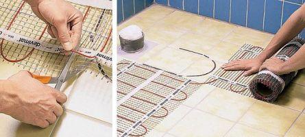 Обвод места установки сантехнического оборудования