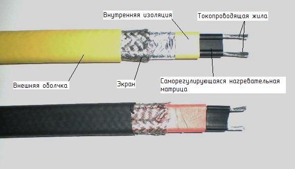 Монтаж саморегулирующегося нагревательного кабеля своими руками