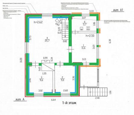 Проект дома из бруса Д16 и его цена под ключ