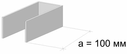 размер п-образного подвеса